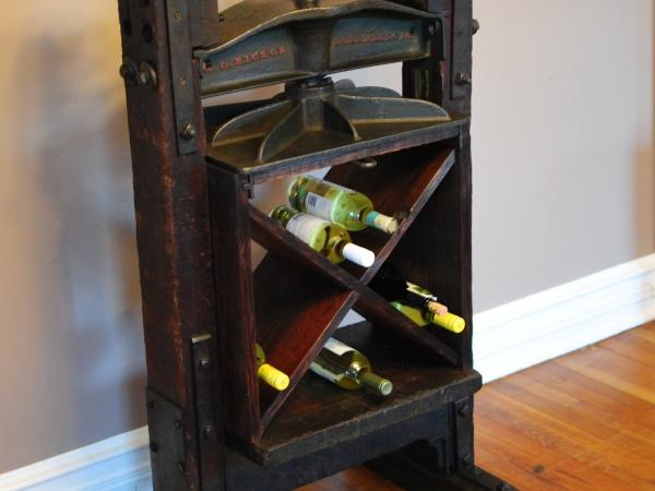 Hickok wine rack